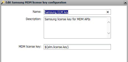 Samsung Elm License