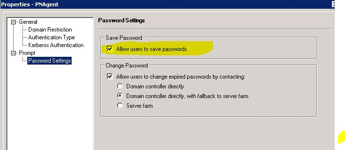 Receiver 4 6 e 4 7 does not save password - Receiver for
