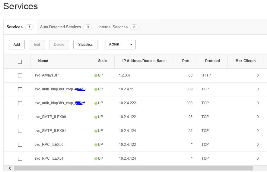 Exchange 2016 NetScaler VPX 100 Load Balancing - NetScaler