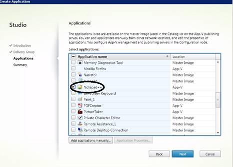 Importing APP-V applications Issue on XenApp 7 5 - XenApp 7