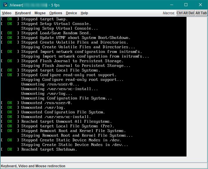 XenServer 7 2 - Freeze on reboot and Reboot on shutdown