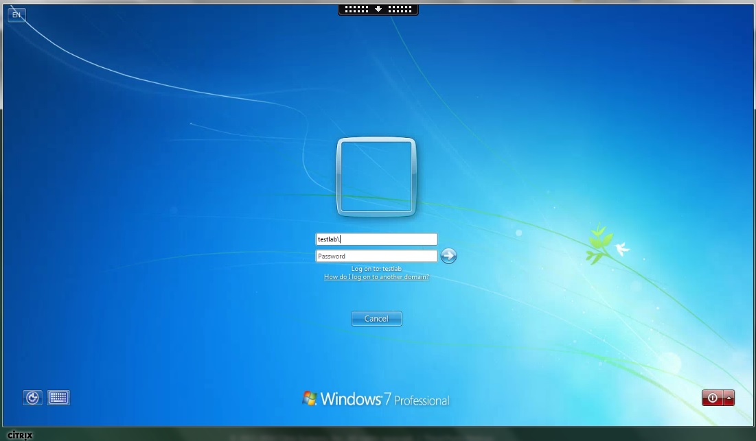 Win7 Logon Prompt - XenDesktop 7 x - Discussions