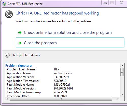 Receiver 4 9 Startup Error - Receiver for Windows 4 x