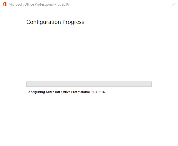 Random issue with Office 2016 and Windows 10 not activating - App