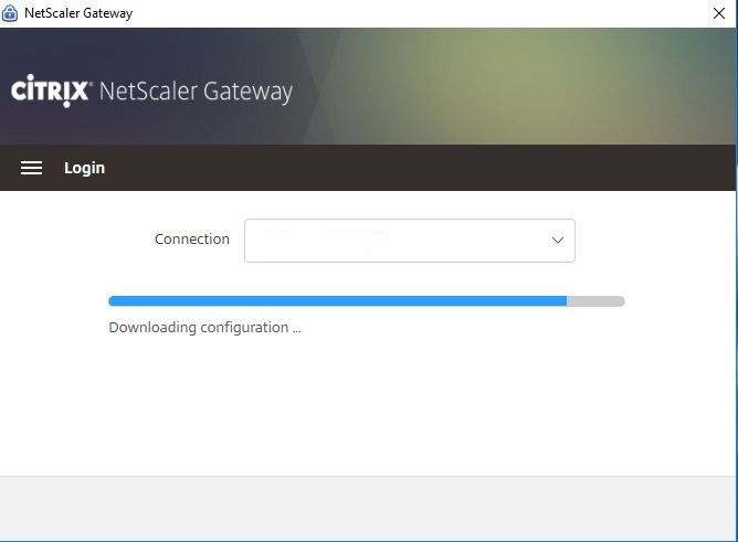 Slow connection SSL VPN Windows 10 version 1709 - NetScaler Gateway
