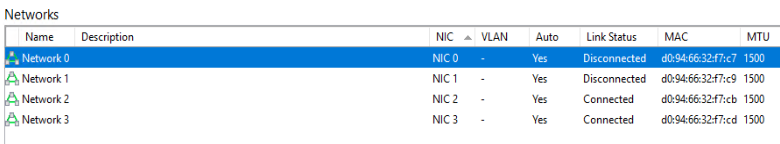 Dell R740 + NIC BCM57800 1/10GB Ethernet + Xen 7 4 Link Problem