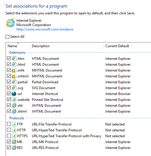 Windows 10 File Type Associations not working - App Layering