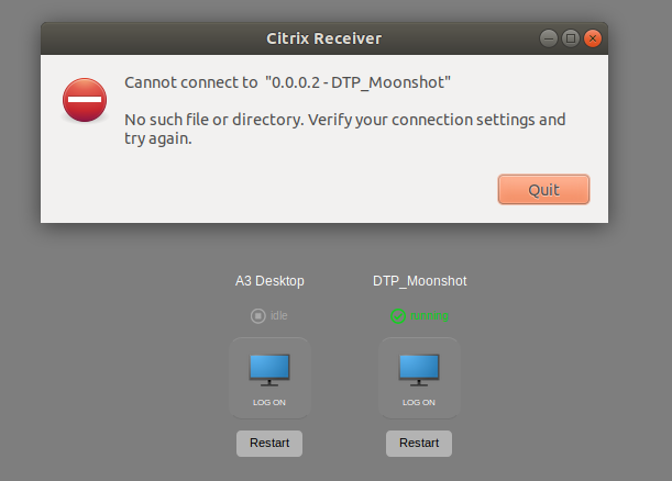 Citrix Receiver on Ubuntu 18 04 LTS - Receiver for Linux 13 x