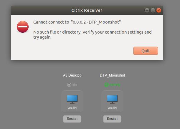 Citrix Receiver on Ubuntu 18 04 LTS - Receiver for Linux 13