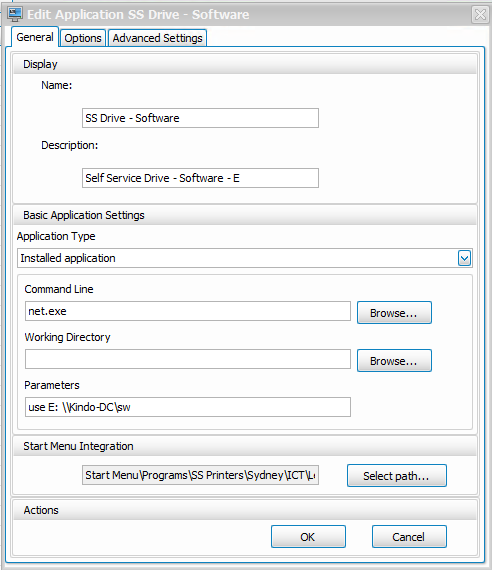 Map network drives over Citrix session on demand - XenApp 7