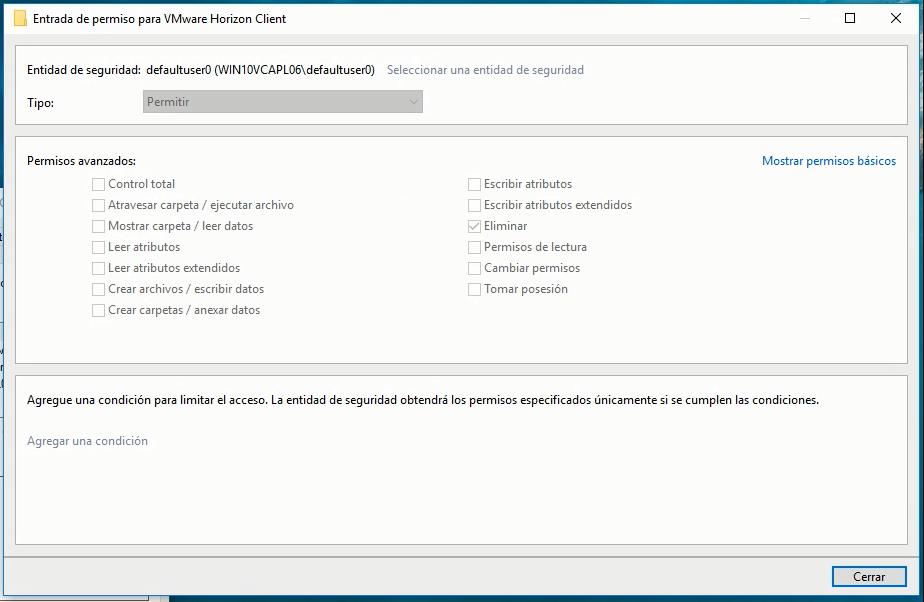 Can't delete or rename shotcuts on desktop - App Layering 4