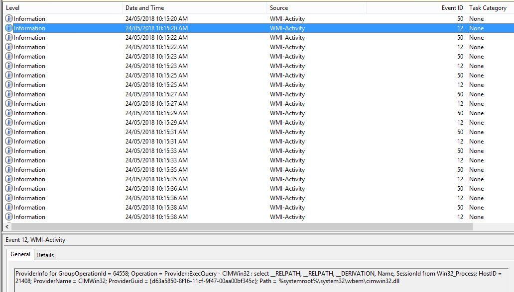 WMIPRVSE high CPU utilization - XenApp 7 x - Discussions