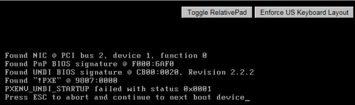 Updating VMware Tools in PVS using e1000, not working for me