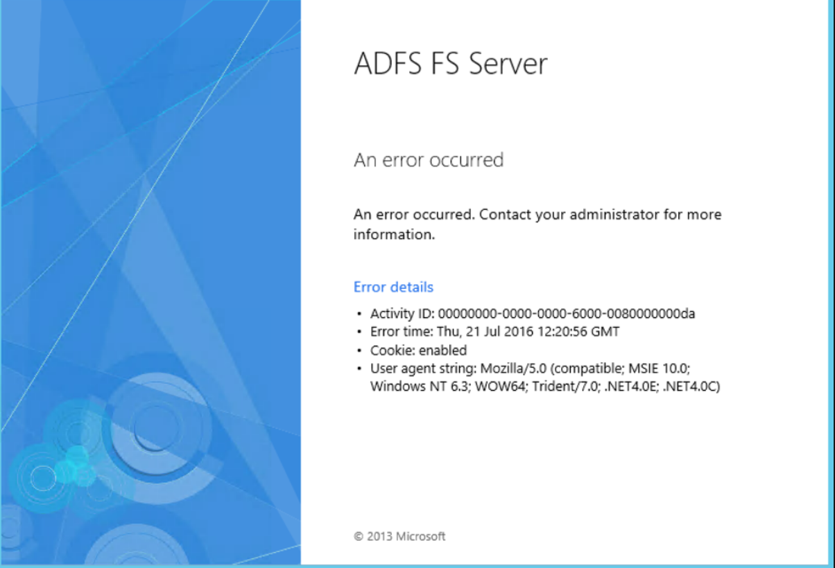 ADFS AAA From Based Authentication issue - NetScaler VPX - Discussions