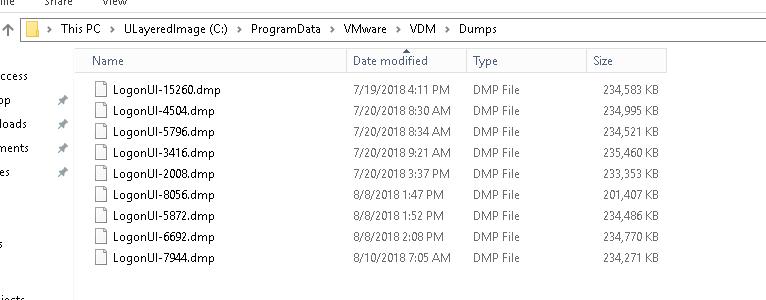 VDM Dumps - App Layering 4 x - Discussions