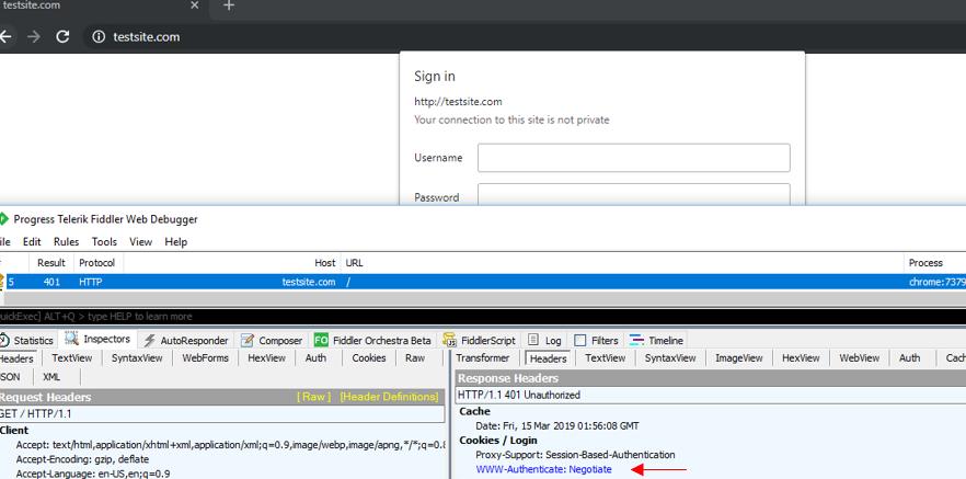 Netscaler AAA - Disable NTLM failback for Negotiate authentication