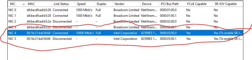 FreeNAS 4 NICS DirectAttach to hosts xcp-ng pool