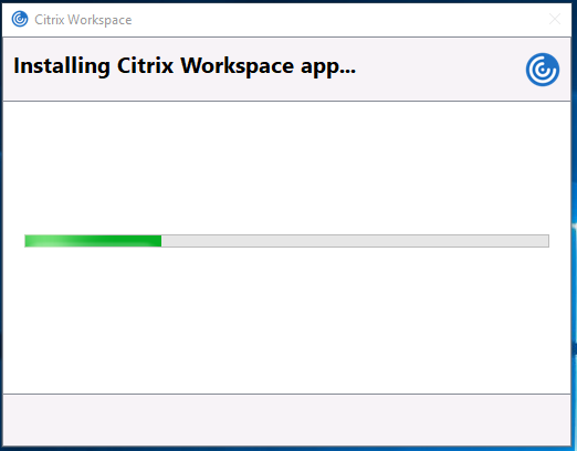 Citrix Workspace crashes/disconnects after a few seconds of entering