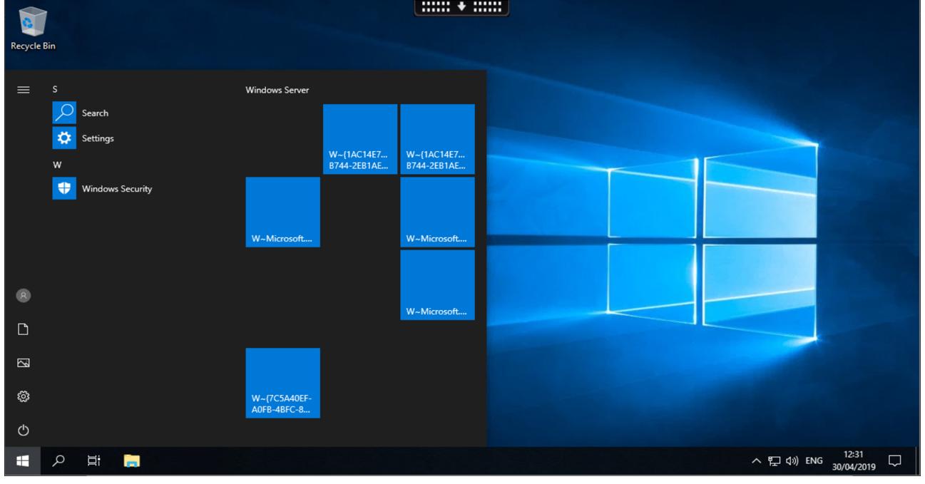 Citrix Cloud WEM Windows Server 2019 and 10 v1903 - Workspace